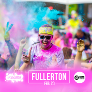 Color Vibe 5K -- Fullerton
