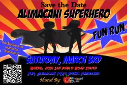 Superhero Walk/Run Hosted by Alimacani Elementary PTA