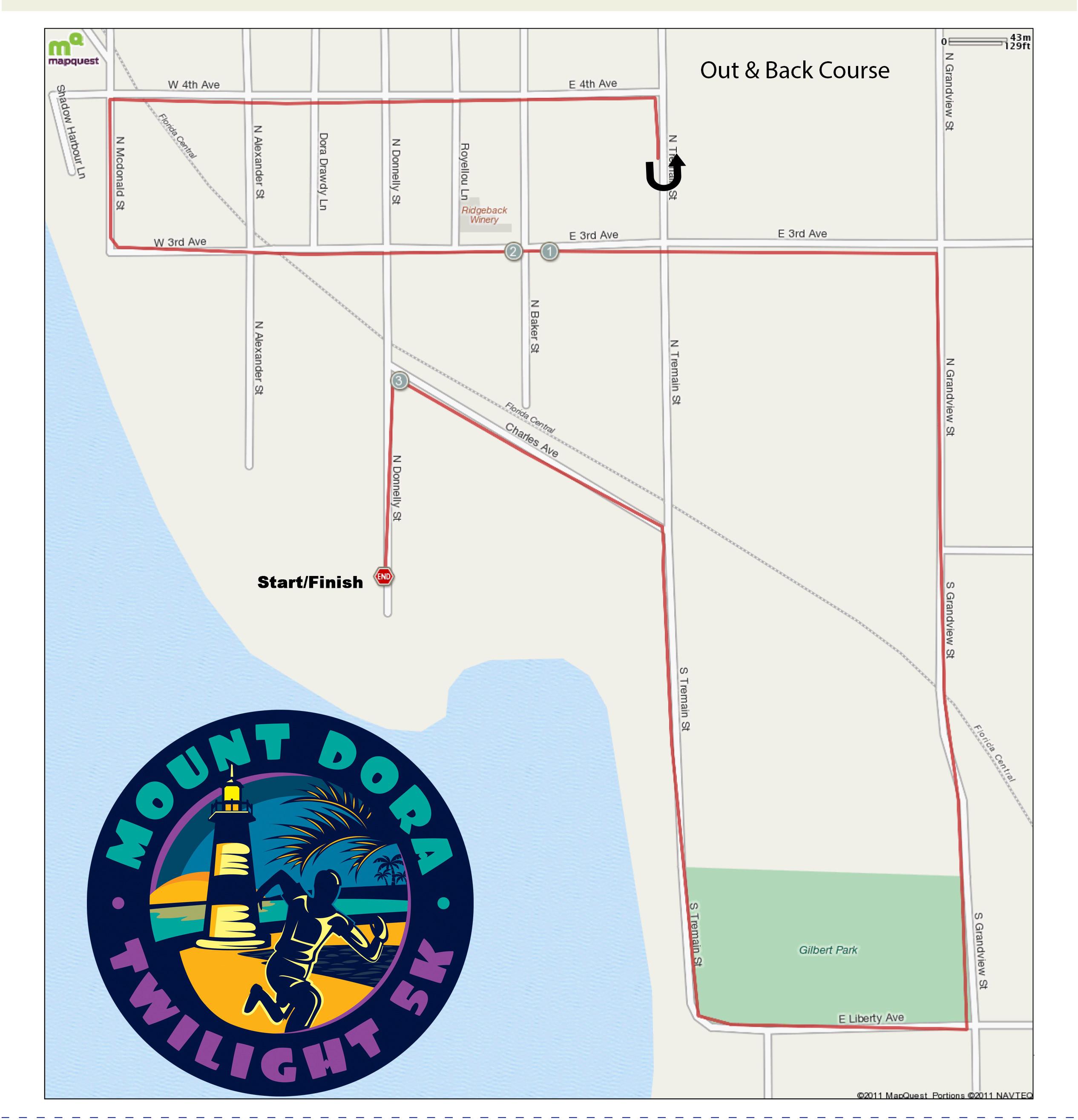Nd Annual Twilight K - Florida map mount dora