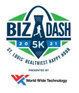 2021 Biz Dash 5K presented by World Wide Technology