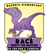 Race Rusty the Raptor 5K, 1m Fun Run/Walk & Carnival
