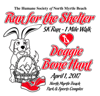 Run for the Shelter 5k, 1 Mile Walk & Doggie Bone Hunt by Chick-fil-A