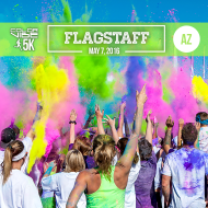Color Vibe 5K -- Flagstaff