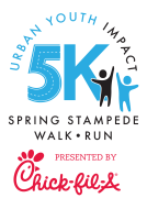 Urban Youth Impact Spring Stampede 5K Run/Walk-Saturday, April 22, 2017