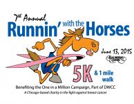 Runnin' with the Horses 5k Run OR 1 Mile Walk