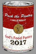 PACK THE PANTRY 4-MILE RELAY RACE