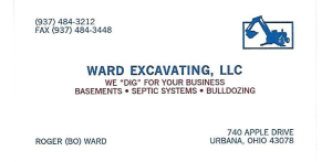 WARD EXCAVATING, LLC