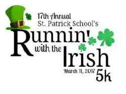 17th Annual Runnin' with the Irish 5K