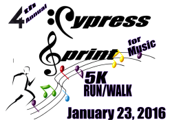 4TH ANNUAL CYPRESS SPRINT FOR MUSIC