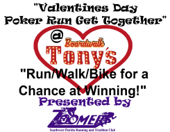 Valentines Day Poker Run/Walk/Bike