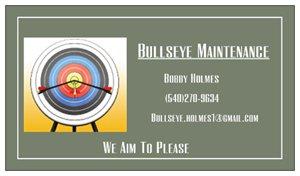 Bobby Holmes with BullsEye Maintenance