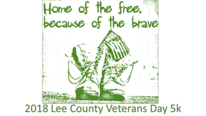 Lee County Veterans Day 5k