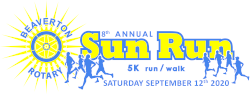 8th Annual Beaverton Sun Run***VIRTUAL RUN***