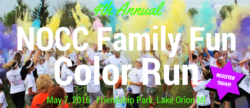 4th Annual NOCC Family Fun Color Run/Walk