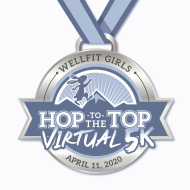 Wellfit Girls Virtual Hop to the Top 5K