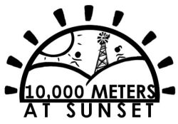 10,000 Meters at Sunset