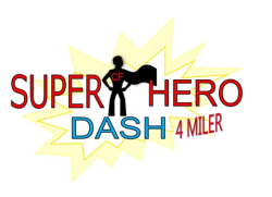 3rd Annual Superhero Dash 4 Miler