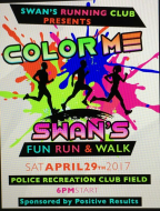 Color Me Swan's Fun Run & Walk