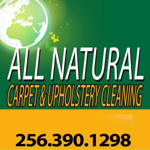 All Natural Carpet & Upholstery Cleaning