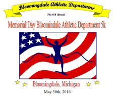 Bloomingdale Memorial Day 5k