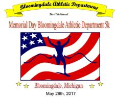 Bloomingdale Memorial Day 5k