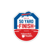 2019 Buffalo Bills 50 Yard Finish Presented by Independent Health