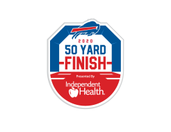 2020 Buffalo Bills Virtual 50 Yard Finish Presented by Independent Health