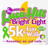 Luca Hill Bright Light Tie-Dye 5k and Fun Walk