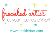 Freckled Artist Graphic Design