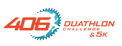 406 Duathlon Challenge, 5k and Kid's Dash & Pedal