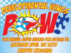 """Super Heroes for Autism"" 5k and 1 Mile Fun Run - **5K is USATF Certified**"