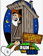 """""""Hillbilly Days Run for the Kids 2019"""" 10k Run/5k Run/2 Mile Walk"""