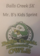 Balls Creek 5K & Mr. B's Kids Sprint