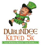 DUbliNDEE Kilted 5K - Registration is closed due to Cancellation/Postponement of the race for Public Safety reasons. Thank you for your patience.  Any questions about rescheduling or refunds, please email Dublindee5K@gmail.com - Donations still accepted.