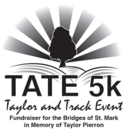 TATE 5K Taylor Pierron Memorial Virtual Run Event