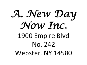 A. New Day, Inc