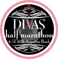 Divas Half Marathon & 5K Series in St. Augustine Beach