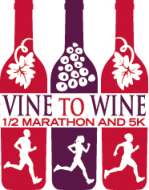 Vine to Wine Half and 5K 2019