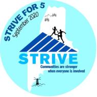 STRIVE for 5- VIRTUAL 5K Run/Walk