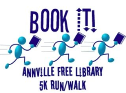 Book It For The Annville Free Library 5k Run / Walk