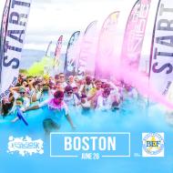 Color Vibe 5K -- Boston