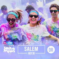 Color Vibe 5K -- Salem