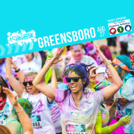 Color Vibe 5K -- Greensboro