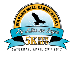 Waples Mill Elementary Fly Like an Eagle - 5K Fun Run