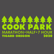Cook Park Marathon, Half Marathon, 7 Hour Ultra