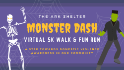 The ARK Monster Dash Virtual 5K Run/Walk & Fun Run