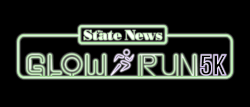 The State News' Glow Run