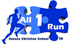 ALL 1 RUN 5K presented by Sussex Christian School