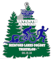 DQ 10th Annual Medford Lakes Colony Sprint Triathlon/Duathlon/AquaBike *#