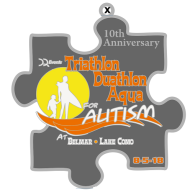 DQ Belmar Triathlon/Duathlon/AquaBike for Autism *#